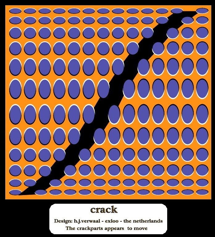 Crack Optical Illusion