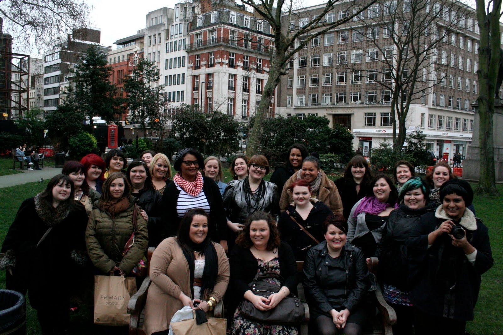 Plus Size Fashion Bloggers at LondonPlus - Daytime