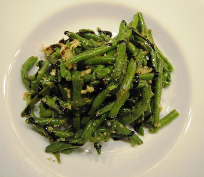 Obs d culinaire notoire salade ti de de haricots verts d - Cuisiner haricots verts surgeles ...
