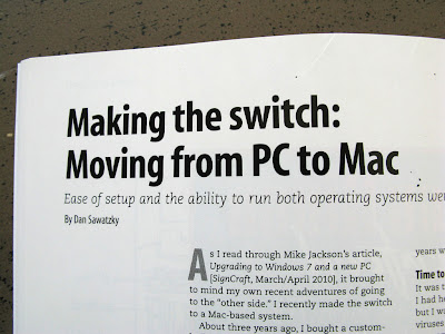 Moving from PC to Mac - a review
