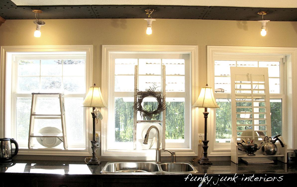 SNS 51 brings you - window sill decor - Funky Junk ...