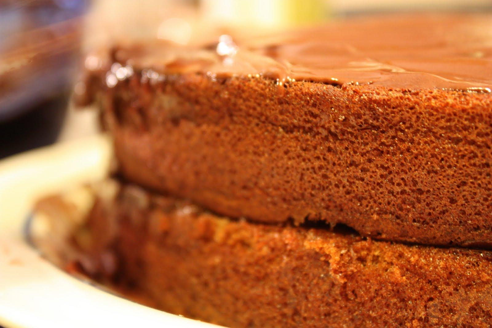 Happy Birthday Hayley Dark Chocolate Coconut Cake