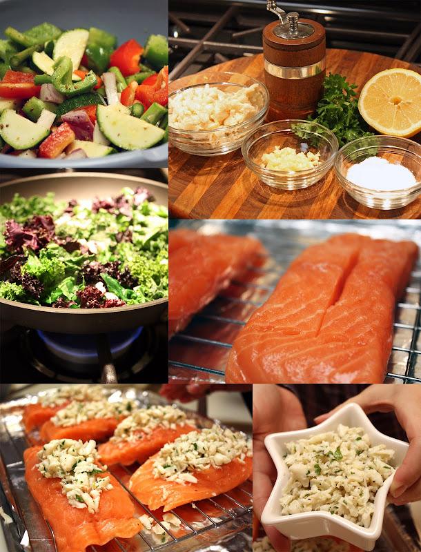 Crab Stuffed Salmon Primal Palate Paleo Recipes