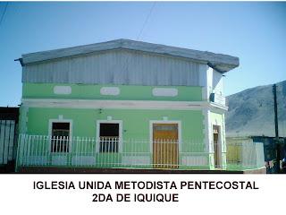 Iglesia Unida Metodista Pentecostal 2° de Iquique