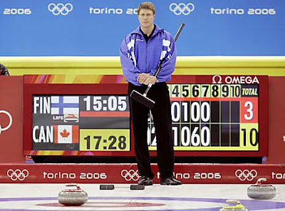 Amid Some Fine Preview Stories On The Imminent Ford World Mens Curling Championships News Has Learned Exclusively That 2006 Olympic Silver