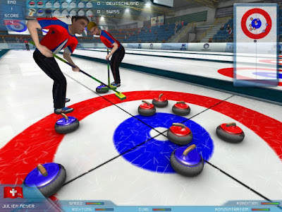 Curling pc game