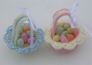 Knitting Pattern Central Easter : FREE KNITTING PATTERN EASTER BASKET - VERY SIMPLE FREE KNITTING PATTERNS