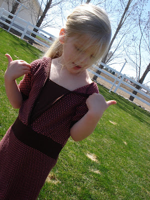 sweater dress upcycle toddler outfit how to sew childrens clothing