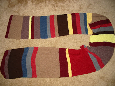 Doctor Who Scarf Patterns - Free Downloadable and Authentic