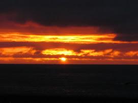 Solnedgang på Grip