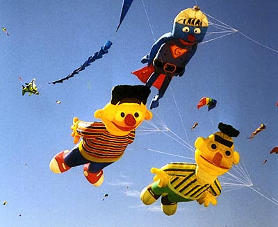 bert ernie kites