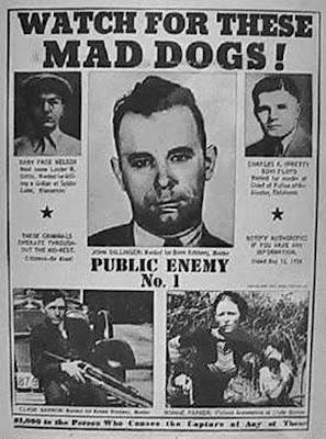 Escrito con Sangre... ¡El Website de los Asesinos!  John Dillinger ... db74b3f92f0