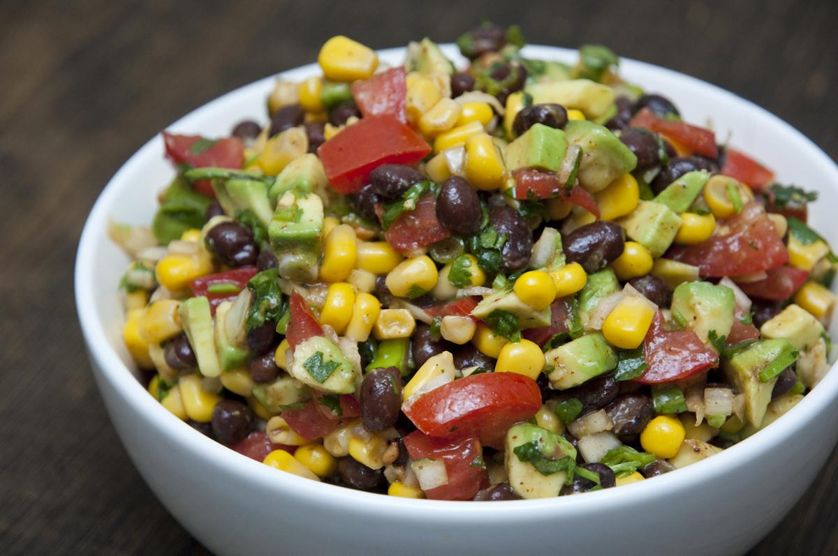 Southwestern Black Bean Salad Recipe — Dishmaps