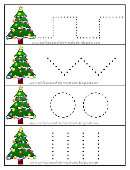 Christmas Trees Printable Activities For Preschool And Kindergarten