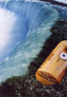Niagara Falls barrel