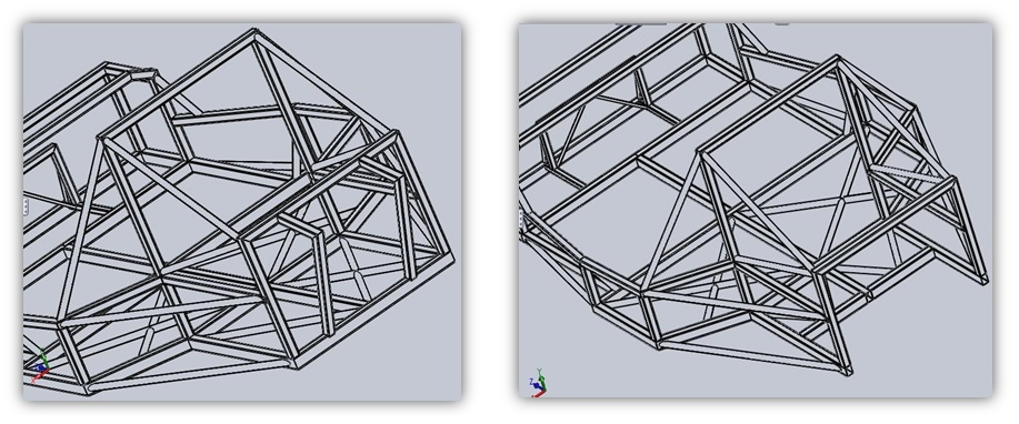 NUS City Car: Chassis Frame