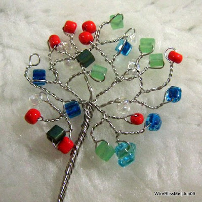 Miniature Wire Tree