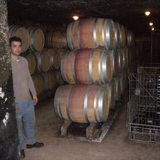 Guillaume Tardy, winemaker at Domaine Jean Tardy