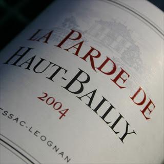 La Parde de Haut-Bailly 2004