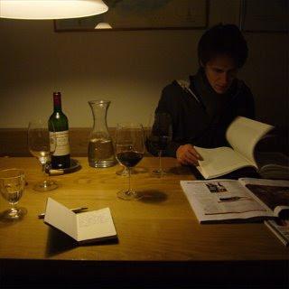 Job Verhaar tasting Cheval Blanc 1999