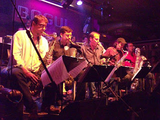 Bob Sands Big Band en el Bogui Jazz