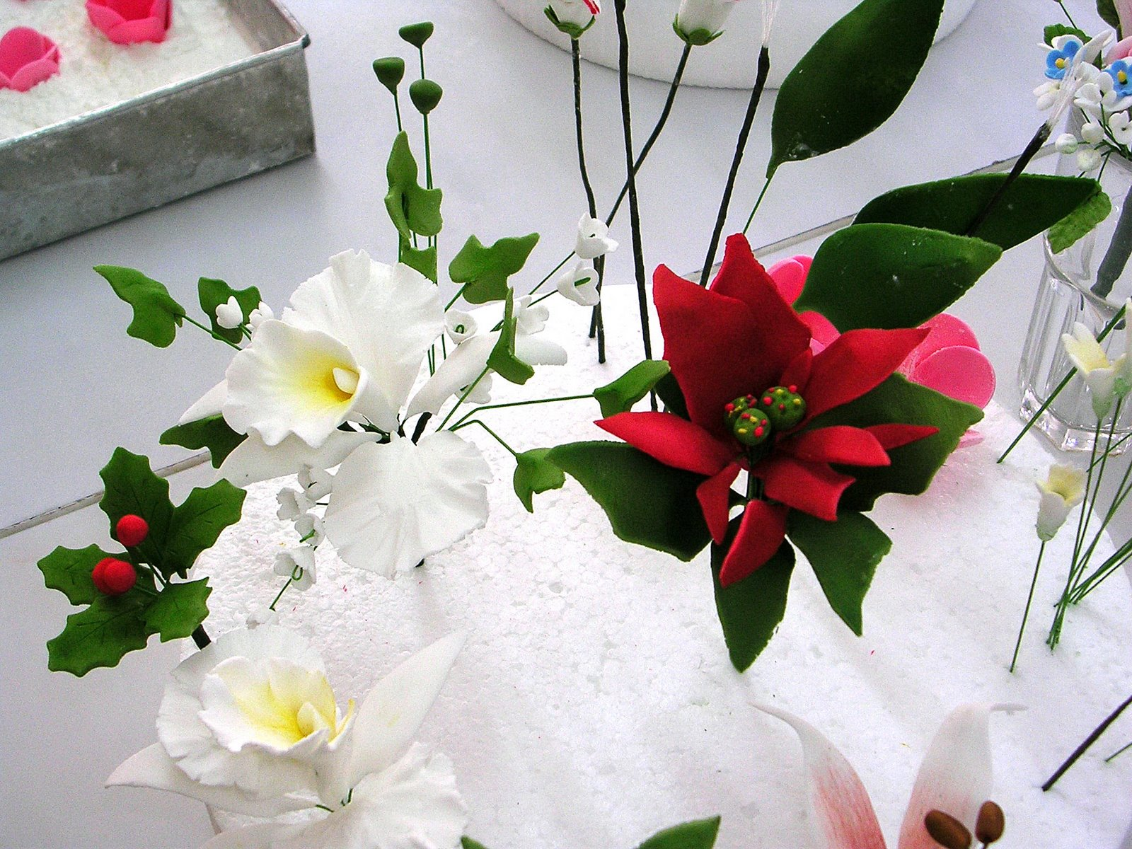 United By Food: Heny Sison - Gum Paste Flower Class Day 5