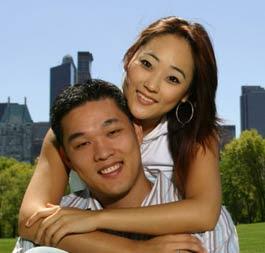 Korean girl dating foreigner