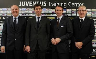 Nuevo staff de la Juventus
