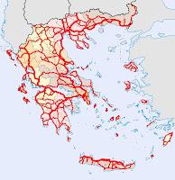 Αποτέλεσμα εικόνας για οδικος χαρτης ελλαδας 2013