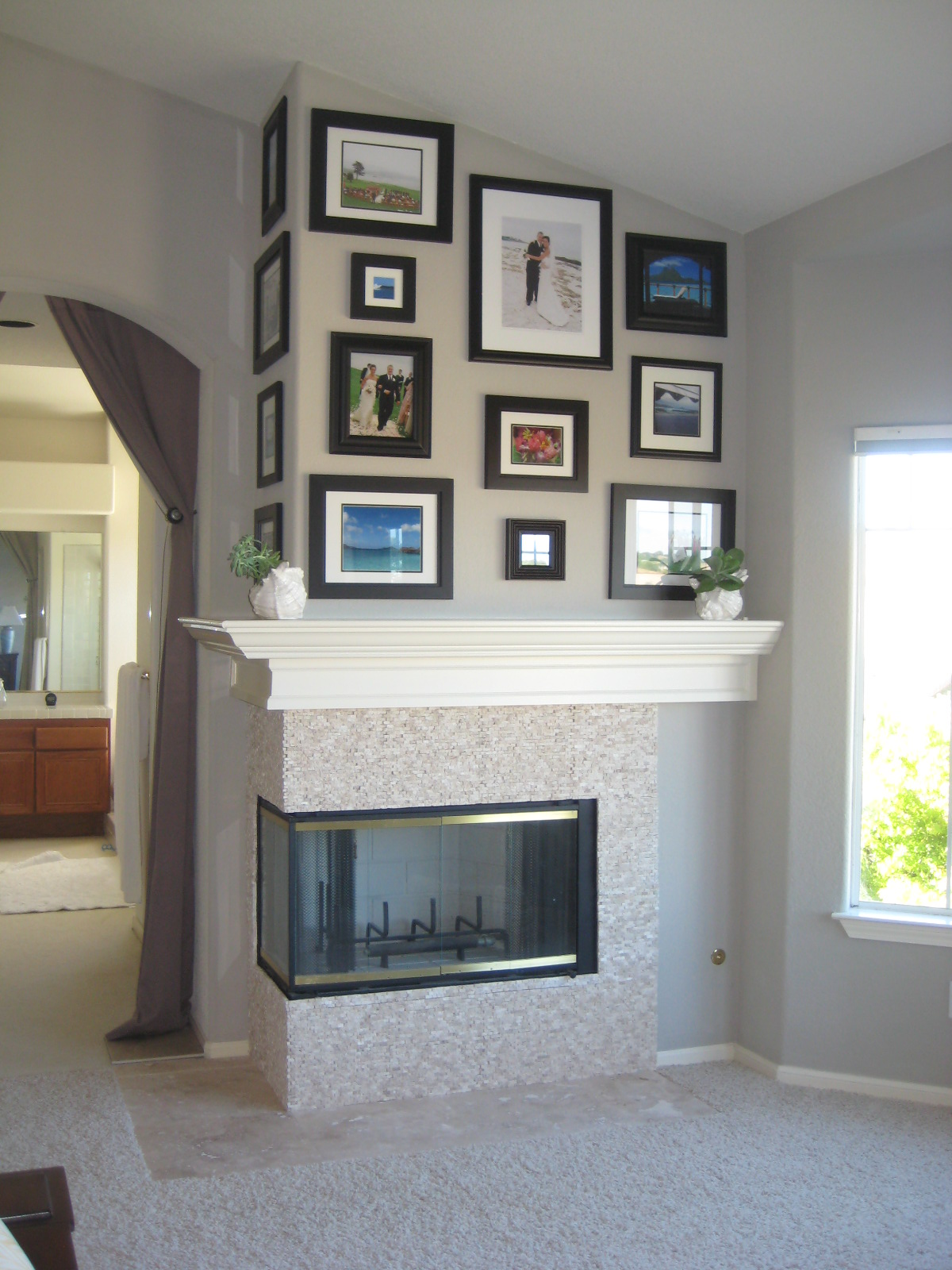 Christie Chase 208 Julie S Fireplace Makeover