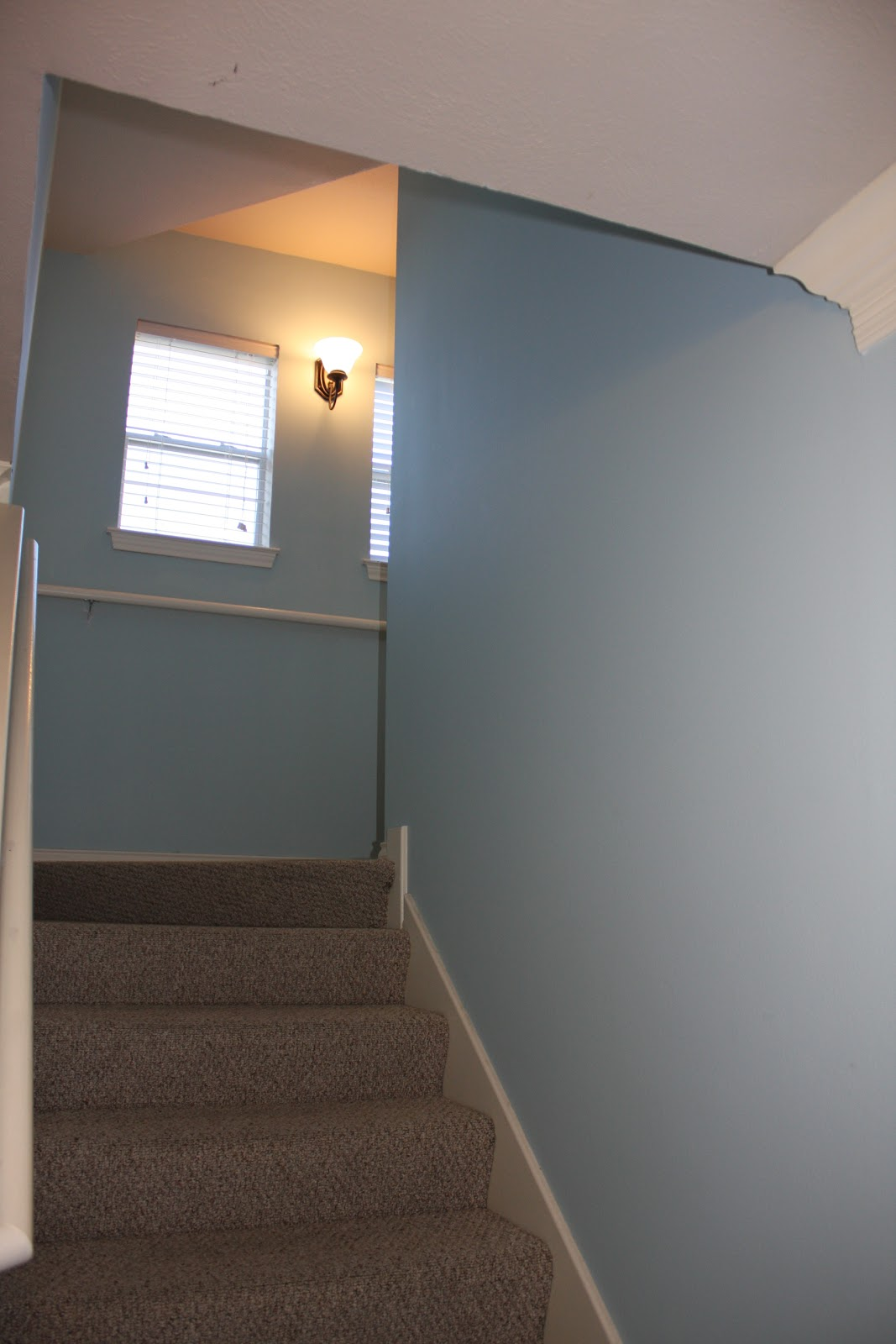 Christie Chase: #284...stairwell decor