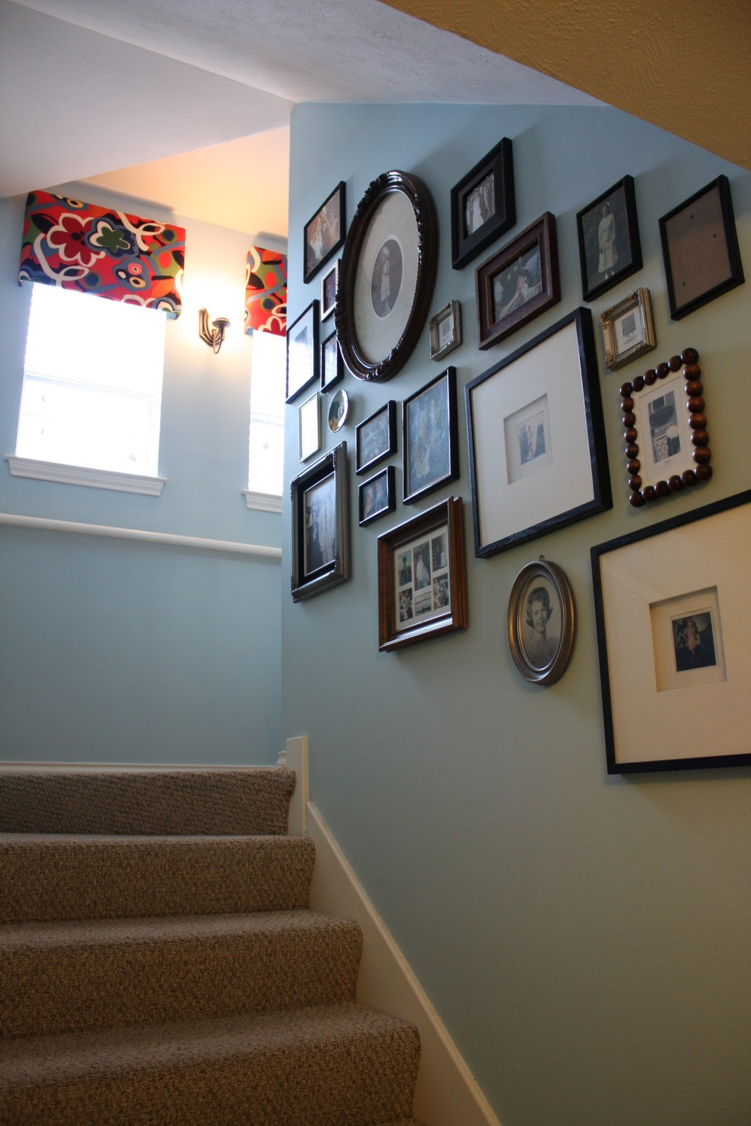 Decorative Items For Living Room: Christie Chase: #284...stairwell Decor