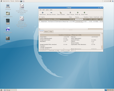 How to install Deluge torrent client at DebianETCH-sun9527