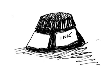 Mike Lynch Cartoons: Travels with Ink and Nib and Brush