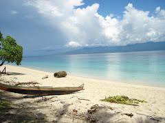 Liang beach, Ambon Island