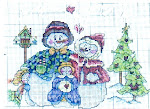 SAL de Natal - Boneco de neve