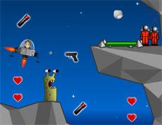 Help this lady stalk her former boyfriend on the Moon! #ValentinesGames #ArcadeGames #FlashGames