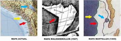 20 3mapas 01 ¿Mapas de América antes de ser descubierta? misterios, enigmas y ovni