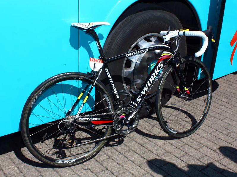 Newforce Hill Climb Alberto Contador のspecialized S