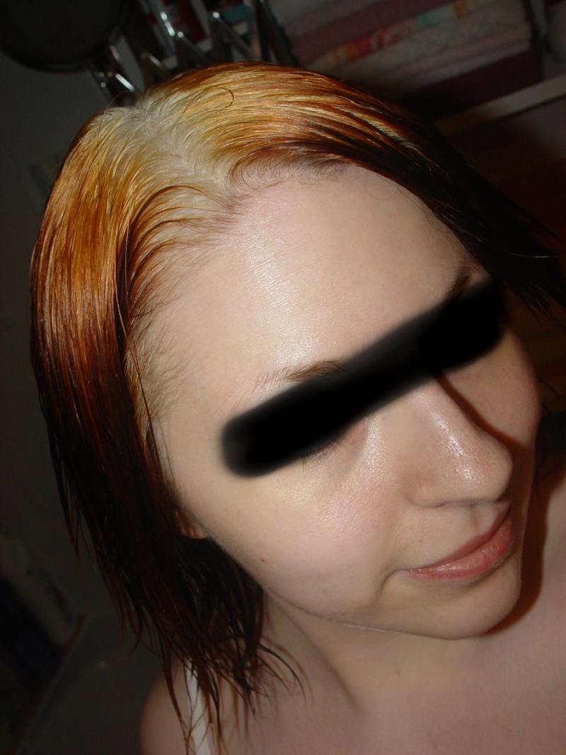 Braun Gefärbte Haare Blondieren Uo75 Startupjobsfa