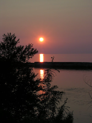 Oswego, NY Sunset Dance