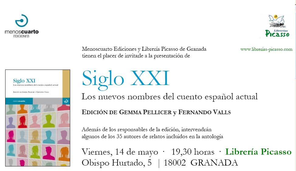 El tacto de un billete falso siglo xxi y ahora granada - Libreria picaso granada ...