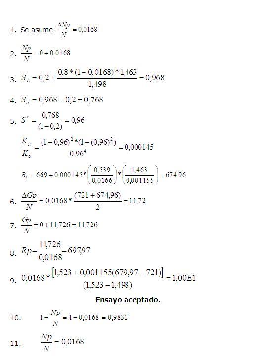 Analisis de balance de materiales for Analisis de balances