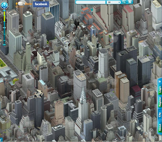 Map Of New York 3d.New York City In Simcity Youcity S Amazing 3d Map Of Manhattan