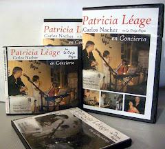 Patricia Léage en CD y DVD
