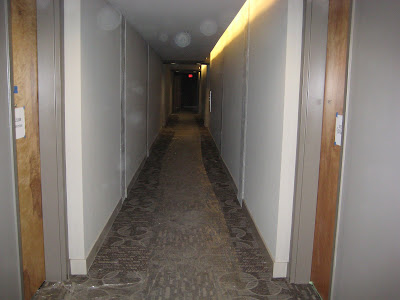 insider picture of the Icon's hallway