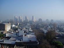 Niebla en Buenos Aires.