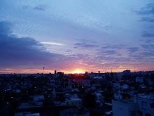 Desde mi ventana:  8:05 p.m. otoño