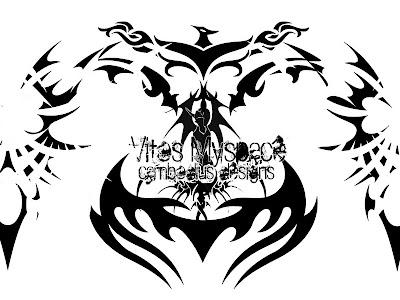 tribal art tattoo designs. makeup Tribal Tattoo Designs