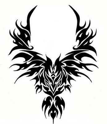 dd959431d tattootopblog: Best Tattoo Tribal Phoenix Spider